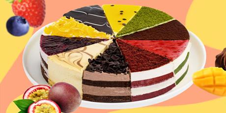 【北京五环内免费配送到家·可到店自提】蛋糕界的热销神话!众多明星都在打卡!现118元享【CakeBoss】8寸10拼慕斯蛋糕!百香果慕斯、抹茶慕斯、提拉米苏慕斯、草莓慕斯、红丝绒慕斯、巧克力慕斯、黑森林慕斯、芒果慕斯、蓝莓慕斯、大理石芝士!足足10种口味一次吃个够!