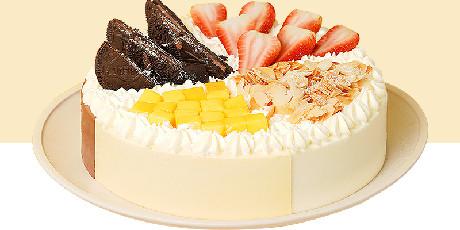 【熊猫不走蛋糕】128元起享【熊猫不走蛋糕优享套餐】六种款式可选,可爱熊猫,将你的专属甜蜜送到家