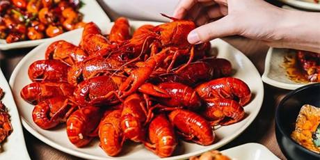 【浦东/态锅10斤小龙虾/5.1可用】小龙虾来啦!168元享门市价440元的『10斤小龙虾』十三香口味,香到嘬手指~