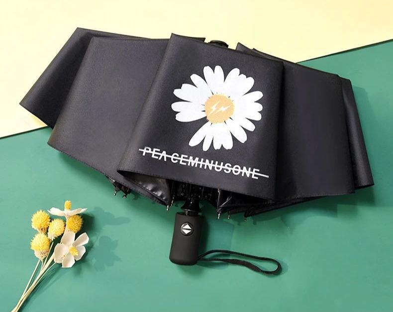 【全国·包邮】一键开收!28元抢门市价69元『小雏菊自动两用晴雨伞』,超强防晒,瞬间降温,这个夏天你值得拥有!